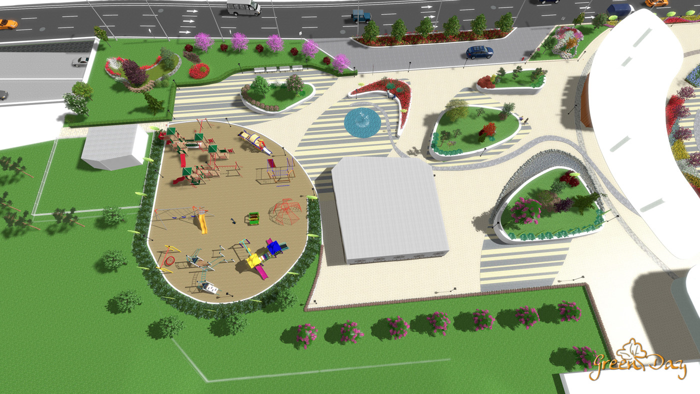 Тендер на ландшафтный проект городского парка Алматы