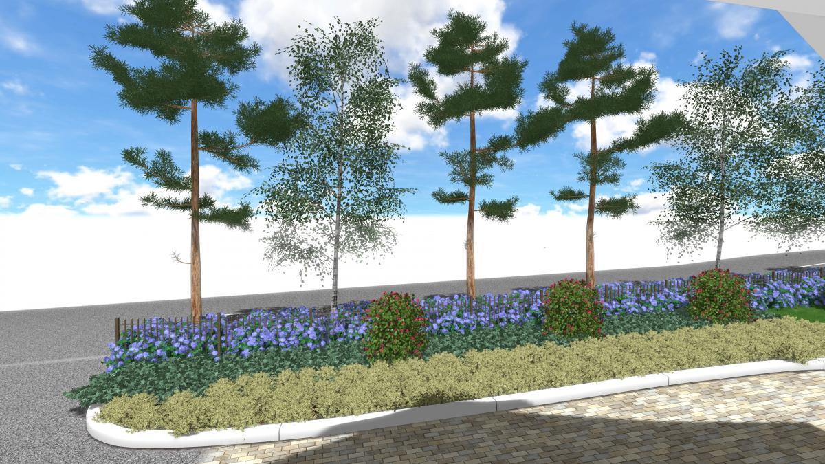 Тендер по разбивке клумб и цветников в городе Алматы