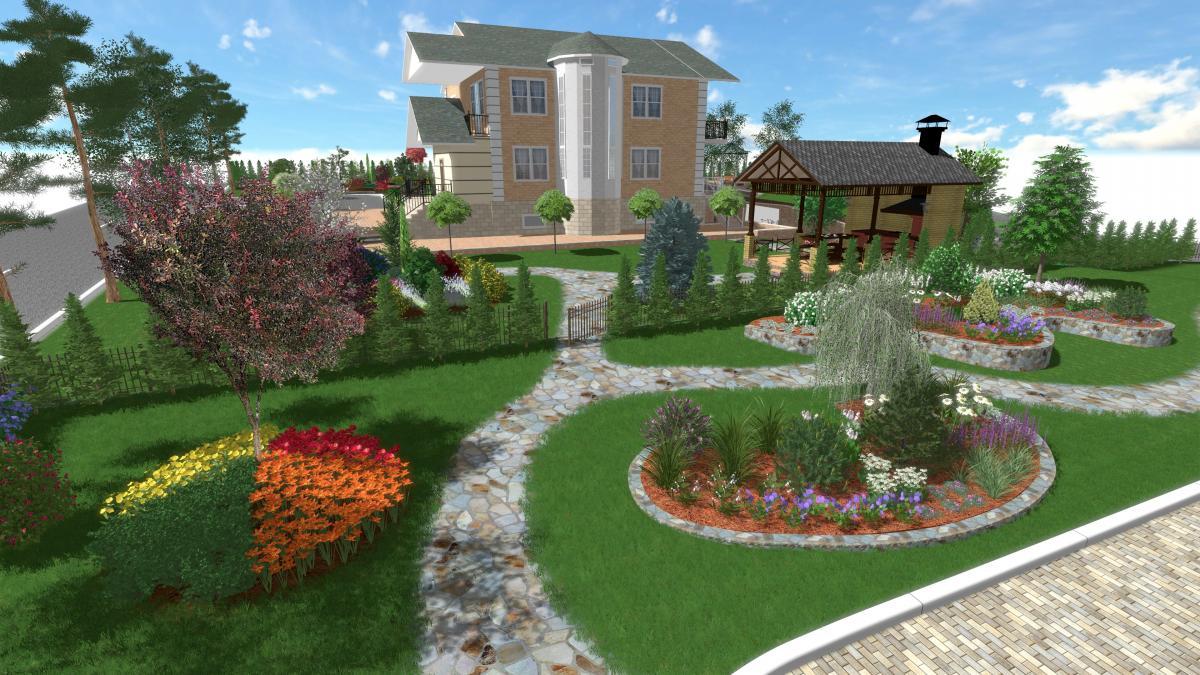 Тендер на создание садовых дорожек в Алматы