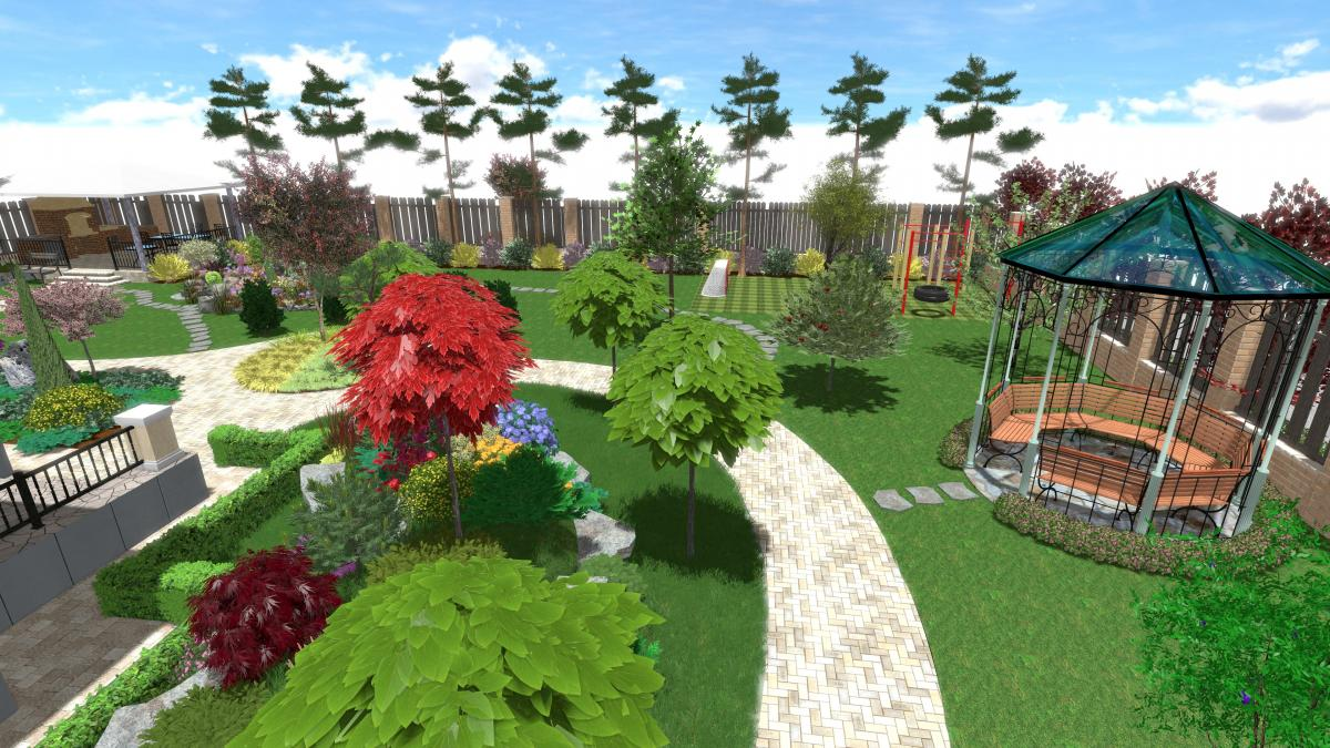 Тендер на ландшафтный проект детской площадки